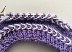 Latvialainen palmikko | Meillä kotona Winter Hats, Crochet Hats, Knitting, Accessories, Fashion, Knit Patterns, Dots, Knitting Hats, Moda