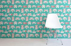 Retro Controller Wall Murals Are Perfect For A Game Room