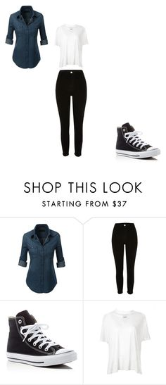 """""""MY style"""" by sharonb331 on Polyvore featuring River Island and Converse"""