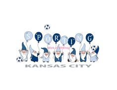 Items similar to Sporting Kansas City Gnome Soccer Print - - Ready to frame - Archival ink and paper - Great Christmas gift on Etsy Sporting Kansas City, Perfect Christmas Gifts, Gnomes, Soccer, Nursery, Frame, Sports, Prints, Etsy