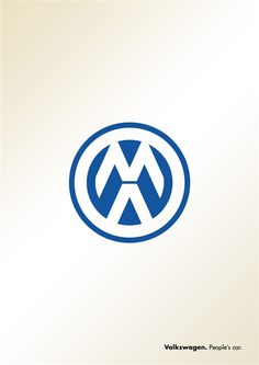 Minimal but effective advert from VW