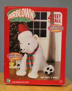 Polar Bear Airblown Inflatable