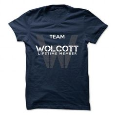 nice OLCOTT name on t shirt