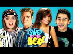Actress Maisie Williams and Other Teens React to the Television Series 'Saved by the Bell'