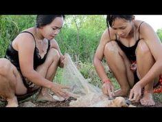 Pêche Étonnante À Battambang - Comment Faire De La Pêche Au Cambodge - Par Pailin Ever (Partie 268) - YouTube