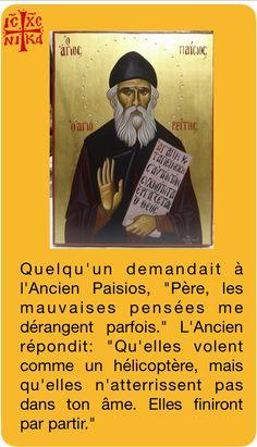 Les mauvaises pensées par St Païssios l'Agiorite