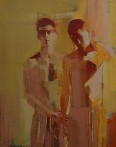 brothers no.27 oil on canvas. ~ Mark Horst