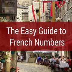 The Easy Guide to French Numbers	  There are no maths in here. We'll only be talking about the most important and practical topics about numbers – the kind of things that you actually need to know, and the ones that are useful in the real world.    Plus, we'll be doing it the easiest way possible– ironing out the quirks as much as we can.	 http://www.talkinfrench.com/french-numbers/	  Download the French learning package for more. It's absolutely free!