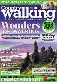 **Pre-order your copy now and get it delivered through your door the day that it hits the shelves!**  OUR WONDERFUL COUNTRY – A WONDERFUL NEW YOU It might be the most spectacular and beautiful edition of Country Walking ever! Indeed how could it fail to be when it's dedicated to the wonders of walking? You won't be surprised to hear it's packed with incredible photography and features, but what might is how accessible these cinemascope vantage points are with our accompanying step-by-step...