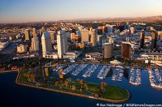 Aerial Pictures of San Diego
