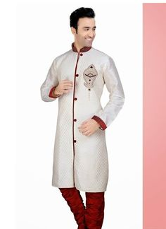 Sherwani for men, latest collection with zari work, stones work and pure silk ones.