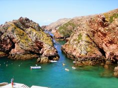 isla berlenga, portugal
