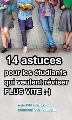 14 Astuces Pour Les Étudiants Qui Veulent Réviser PLUS VITE.