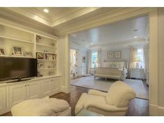 I like the lounge area in the Master Bedroom