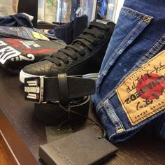 Dsquared2, High Tops, High Top Sneakers, Shoes, Collection, Fashion, Moda, Zapatos, Shoes Outlet