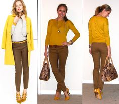 Js Everyday Fashion: Todays Everyday Fashion: More Yellow