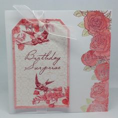 Toile de Jouy created by Julie Hickey Craftwork Cards, Collections, Tags, Female, Create, Nature, Flowers, Ideas, Toile