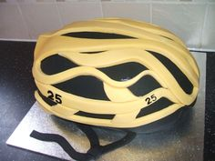 Cycle helmet from the Tour de France.