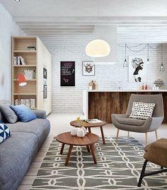 Um apartamento simples e bonito