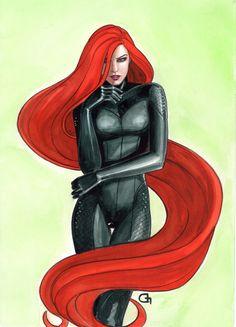 Medusa by Dijana Granov Comic Art