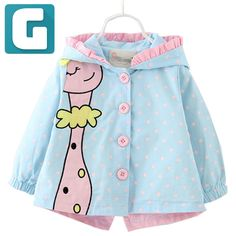 Cheap baby bear coat, Buy Quality baby coat directly from China baby clothing Suppliers: Bear Leader Baby Jackets Autumn Kids Coats Jackets Clothing Baby girl Clothes Cartoon Coats dots hooded Children Outerwear&Coats Kids Coats Girls, Girls Coats & Jackets, Baby Girl Jackets, Kids Girls, Toddler Girls, Outerwear Jackets, Baby Outfits, Kids Outfits Girls, Baby Girl Winter