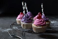 kirsch bananen cupcakes