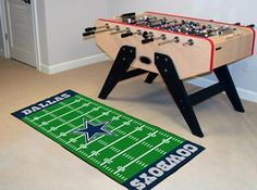 Use this Exclusive coupon code: PINFIVE to receive an additional 5% off the Dallas Cowboys Football Field Runner at SportsFansPlus.com