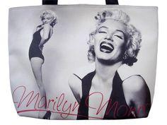 Marilyn Monroe Retro Ballerina Signature Tote Shoulder Bag Purse Handbag