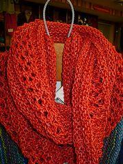 Ravelry: Sabine Cowl pattern by Kathy Nies