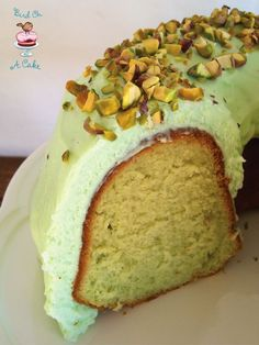 Bird On A Cake: Pistachio Pudding Bundt Cake