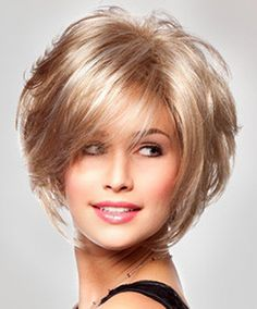 Turning heads and making great impressions, Charlotte by TressAllure features fresh volume, in a unique short tousled bob cut, accentuated with waved layers. An