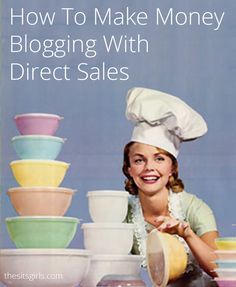 Direct sales is a great way to make money with your blog. Learn how to identify a product you can easily create and sell, and increase your income today.