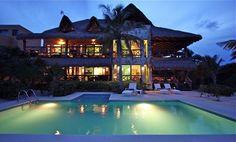 Soliman Bay Vacation Rental - VRBO 627158 - 7 BR Quintana Roo Villa in Mexico, Sombras Del Viento