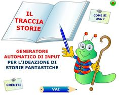 Il Tracciastorie: programma per inventare storie fantastiche Web E, Software Online, Digital Storytelling, Family Guy, Coding, Classroom, Technology, Teaching, Writing