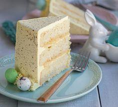 Coconut Lemon Cake Recipe Via Pineapple and Coconut Blog for Cost Plus World Market >> #WorldMarket Easter Traditions, Recipes, Desserts, Entertainment ideas