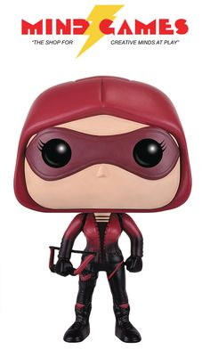 """This 3 ¾"""" tall, battle-ready figure of Speedy will make sure your collection stays safe! Thea Queen joined the ranks of Star City's vigilante's after being trained by her father Malcolm Merlyn, a former member and now the new Demon's Head of the League of Assassins. She joined Team Arrow using Oliver's nickname for her, Speedy, as her code-name. Previously a reckless and immature child, Thea's previous life of partying and substance abuse gave way to a new resolve towards duty and…"""