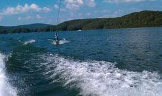 SailAway Lake House wakeboarding