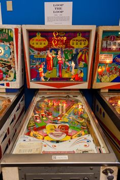 Loop-the-Loop pinball machine made by Bally in 1966