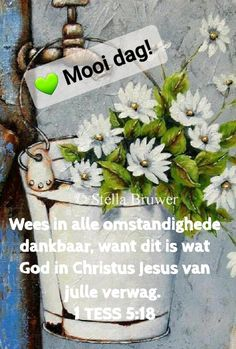 Lekker Dag, Goeie More, Afrikaans Quotes, Good Morning Wishes, Christianity, Prayers, Encouragement, Bible, Messages