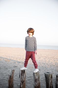 Gray Label AW15 Tied to the sea #Stripes #Sweater #Blush #Baggypant #Pant #Boys #Kids #Organic #Soft #Ecologic #GrayLabel