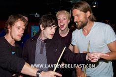 Game of Thrones Cast: Alfie Allen (Theon Greyjoy), Gwendoline Christie (Brienne of Tarth), Nikolaj Coster-Waldau (Jaime Lannister)