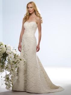 Birnbaum and Bullock #wedding #dress #lace #sweetheart