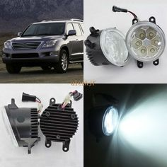 69.99$  Watch here - http://aliwlx.worldwells.pw/go.php?t=32766477519 - July King 18W 6500K 6LEDs LED Daytime Running Lights LED Fog Lamp case for Lexus LX570 2008-2013, over 1260LM/pc 69.99$