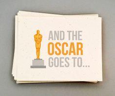 Oscar Party Invitations