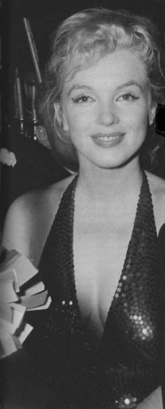 Marilyn at the April in Paris ball at the Waldorf Astoria Hotel in New York, April 1st 1957.