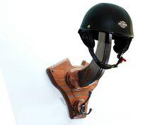 Hey, I found this really awesome Etsy listing at https://www.etsy.com/ca/listing/518535176/v-twin-helmet-holder-bike-equipment-rack