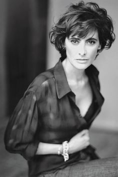Ines de la Fressange, vogue.co.uk. Photo by Paolo Roversi #Fashion #France