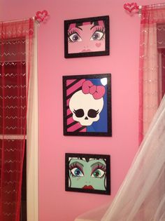 Exceptionnel Vivianu0027s Monster High Room...so Far | Emiliau0027s Pins | Pinterest | Monster  High Room, Monster High And Monsters