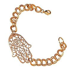 Hamsa Peace Bronze Link Bracelet >>> Check out the image by visiting the link.(This is an Amazon affiliate link and I receive a commission for the sales)