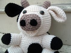 Amigurumi PATTERN: Crochet Cow